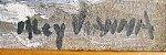 Alcy Vianna - Quadro, Arte em Pintura Original, Óleo S/ Eucatex, Temática Navegação / Marítima, Assinada - Imagem 3