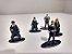 Harry Potter 5 Personagens para Coleção - METAL DIE CAST 4cm - Imagem 3