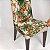 Capa para Cadeira de Malha Lisa Bege Tamanho Único - Adomes - Imagem 2