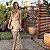 Vestido Longo Dourado Maisa - Aquarella - Imagem 1
