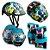 Kit De Proteção Infantil Para Skate Bike Patins Monster Atrio - Imagem 1