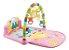 Tapete de Atividades para Bebê Musical Piano Alegria Rosa - Imagem 1