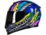 Capacete Axxis eagle dreams gloss blue/grey todos - Imagem 1