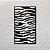 Quadro Decorativo Zebrado - Imagem 1