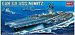 Academy - CVN-68 USS Nimitz - 1/800 - Imagem 1