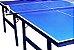 Tenis de Mesa Oficial Dobrável tampo MDF 15MM Estrutura em madeira maciça - Imagem 3