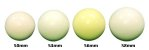 Bola branca (bolão) 50 – 54 – 56 e 58mm - Imagem 1