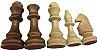 Peças de Xadrez Madeira Maciça Rei 10 cm | Kit 32 unidades - Imagem 2