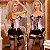 Corselet Rosa Acetinado e Renda + Meia Fina - Sex shop - Imagem 4