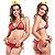 Fantasia Mini Bombeira Hot Flowers - Sexshop - Imagem 3