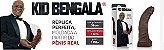 Kid Bengala - Réplica perfeita moldada a partir do penis real - 32cm - Sexshop - Imagem 1