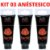 Kit 03 Anestésico Anal Luby Facilit 15ml Soft Love - Imagem 1