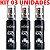 Kit 03 Aromatizante Bucal Power Black Ice Spray 18ml Hot Flowers - Sexshop - Imagem 1