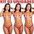 Kit 03 Calcinha e Seios Sabor Morango com Champanhe Comestíveis KARAMELA Hot Flowers - Sex shop - Imagem 3