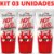 Kit 03 Gel Deslizante HotLub Beijável 25g HotFlowers - Sex shop - Imagem 4