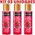Kit 03 Gel Quente Aromatizante Frutas Vermelhas 35ml Hot Flowers - Sexshop - Imagem 2
