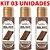 Kit 03 Gel Quente Aromatizante Hot Chocolate 35ml Hot Flowers - Sexshop - Imagem 4