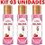 Kit 03 Gel Quente Aromatizante Morango com Champanhe 35ml Hot Flowers - Sexshop - Imagem 4