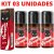 Kit 03 Gel Sexo Oral Vibroquete Coca Cola Vibrante 12gr Hot Flowers - Sex shop - Imagem 3