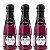 Kit 03 Sabonetes Líquido Banho & Espuma 150ml Vinho Hot Flowers - Sex shop - Imagem 1