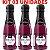 Kit 03 Sabonetes Líquido Banho & Espuma 150ml Vinho Hot Flowers - Sex shop - Imagem 2