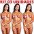Kit 03 Tapa Sexo Estrela Morango com Champanhe Karamela Cosmétivel Hot Flowers - Sex shop - Imagem 5