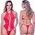 Kit Fantasia Body Vinil Vermelho Sensual Love - Sexshop - Imagem 1