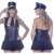 Kit Fantasia Policial Vestido Sensual Love - Sexshop - Imagem 3