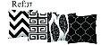 Kit 4 Almofadas Cheias - Estampas 03 - Imagem 2