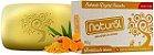 Sabonete Organic Natural com extrato orgânico  de Cúrcuma  80g.  Cruelty-Free  - Imagem 1
