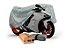 Capa Cobrir Moto Standard 100% Forrada - GG - Imagem 1