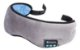 Máscara De Dormir Bluetooth Fones De Ouvido Cinza Algodão - Imagem 2