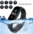 M5 Pulseira Inteligente Mensagem Lembrete Relógio de Fitness Monitor de Pressão Arterial Freqência Cardíaca à Prova D 'Água - Imagem 2