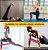 Kit de 5 Peças Faixa de Resistência Mini Bands Elásticas de Resistência Exercícios de Pilates Látex com 5 Intensidades Treinamento de Força Glúteo Fitness e Musculação - Imagem 5
