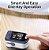 Oxímetro de dedo portátil l-ed Display Monitor de taxa de pulso de oxigênio no sangue para viagens em família - Imagem 4