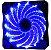 Cooler Fan OEX F20 LED, 12cm, Varias Cores - F20 - Imagem 1