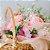 Cesta de flores personalizada - Imagem 2