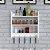 Prateleira Porta Temperos Cozinha em MDF - Casa Bela - Imagem 1