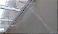 Varal de Parede  Individual com 1,00 metro x 08 Varetas em Alumínio - Imagem 6