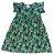 ME PETIT vestido verde estp tropical 4 anos  - Imagem 1