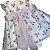 PAOLA DA VINCI vestido c calcinha branco tule bordado rosas 3-6 meses - Imagem 2