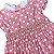 MAISON BABY vestido casinha de abelha rosa com pois branco 1 ano + par de laços - Imagem 2