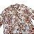 MIXED camisa de viscose TOILE DE JOUY vinho 8 anos - Imagem 2