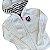 TOMMY HILFIGER casaco c capuz de linha branco 6-7 anos - Imagem 2