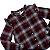 H&M blusa viscose xadrez 8-9 anos - Imagem 2