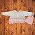 CHANDRA casaco de linha offwhite listras rosa + gorro rosa RN - Imagem 1