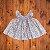 BK HOME vestido casinha de abelha florido 03 meses - Imagem 1