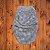 swaddle pelos cinza - Imagem 1