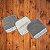 JUST BORN toalinha cinza kit c 3 - Imagem 1
