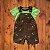 GREENDOG conjunto jardineira short e camiseta dinossauro 12 meses - Imagem 1